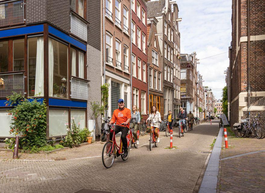 Wycieczka rowerowa w małej grupie po centrum Amsterdamu