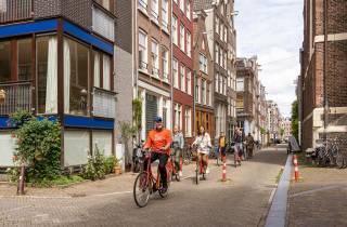Amsterdam: Kleingruppen-Radtour durchs Stadtzentrum
