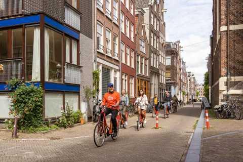 Amsterdam: visite à vélo en petit groupe du centre d'Amsterdam