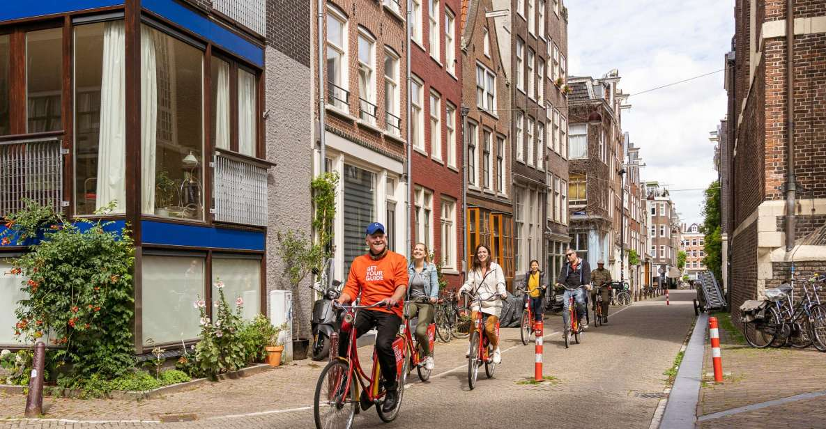 Amsterdam: Small-Group Bike Tour of Central Amsterdam