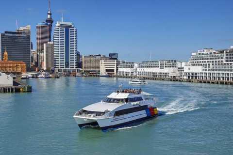 Auckland: Rangitoto Island Roundtrip Ferry Pass