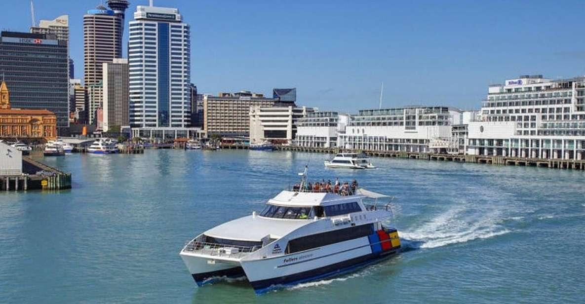 Auckland: pass per il traghetto di andata e ritorno per l'isola di Rangitoto
