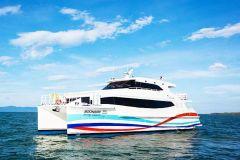 Bangkok: Translado de ônibus e catamarã de / para Koh Mak