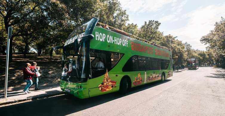 Tour de lugares de interés de Budapest en autobús turístico