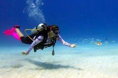 San Andres: Experiência de mergulho autônomo com embarque no hotel