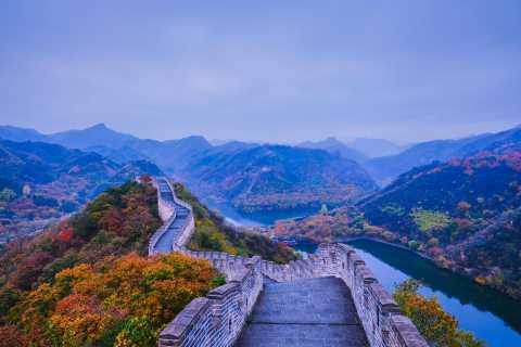 From Beijing: Huanghuacheng Lakeside Great Wall Private Tour