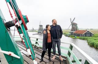 Amsterdam: Volendam, Edam & Zaanse Schans Kleinbus-Tour