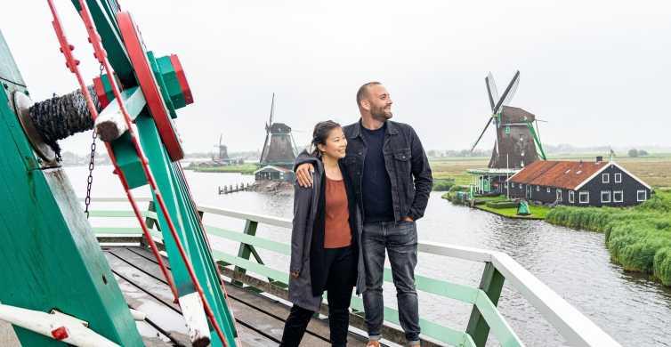 Amsterdam: Volendam, Edam et Zaanse Scans en minibus