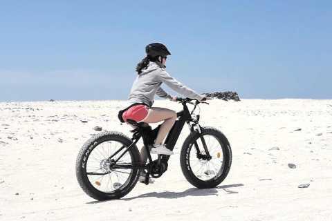 Ab Lanzarote: Anspruchsvolle E-Bike-Tour auf Fuerteventura