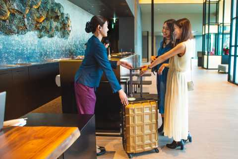 Tokyo: Haneda Airport Same-Day Luggage Delivery Service