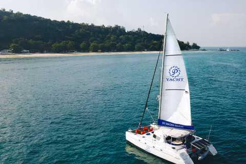 Phuket: Racha and Coral Island Catamaran Yacht Cruise