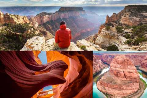 Las Vegas: Grand Canyon, Antelope Canyon, Horseshoe Bend