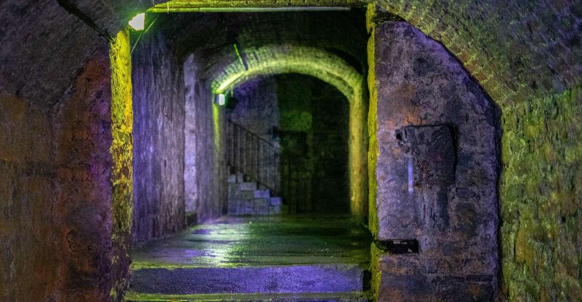 Édimbourg: visite des voûtes souterraines