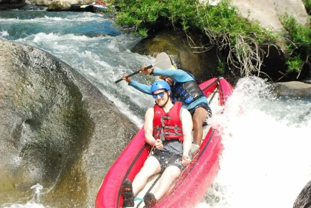 Tamarindo: Canyon de La Vieja 1-daagse avonturenpas