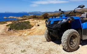 Cagliari: Quad Adventure Experience from Chia