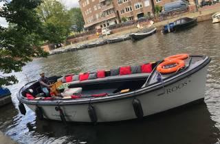 Amsterdam: BBQ-Bootsfahrt mit Live-Koch
