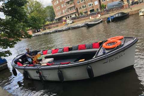 Amsterdam BBQ Cruise with Live Cook