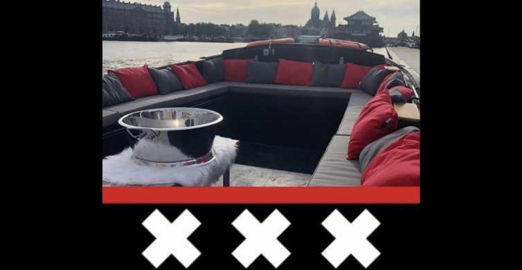 All-Inclusive Private Canal Cruise of Amsterdam