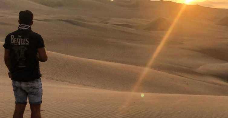 From Ica or Huacachina: Pisco and Wine Tour with Desert Trip