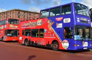 Liverpool: City und Beatles Open Top Bustour