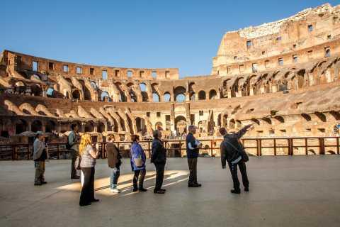Colosseum: Omvisning inkl. arenagulvet, Forum Romanum og Palantinerhøyden