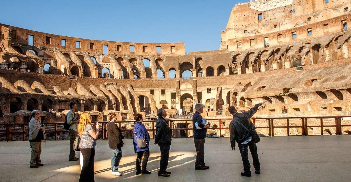Colosseo: tour dell'Arena, Foro Romano e Palatino