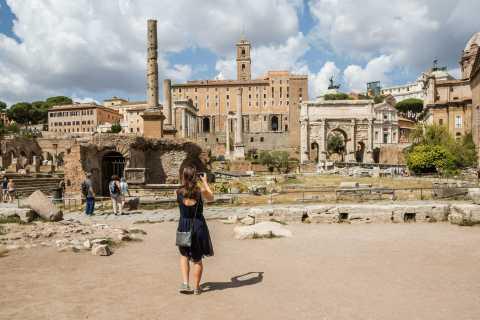 Colosseum: Privat omvisning inkl. Forum Romanum og Palantinerhøyden
