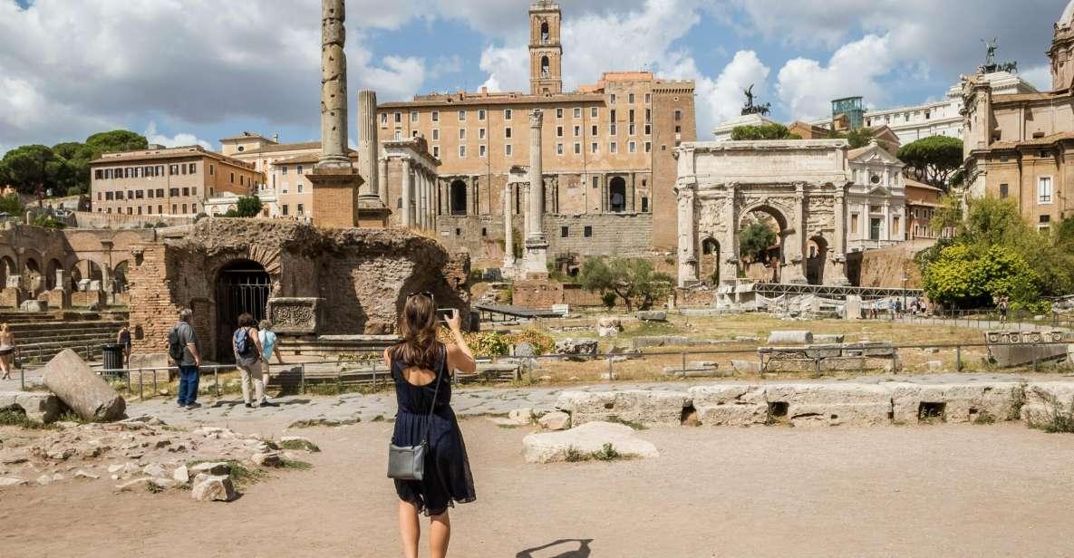 Colosseo: tour privato con Foro Romano e Palatino