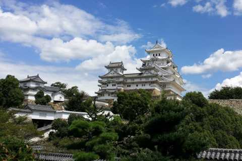 From Osaka: Himeji Castle and Arima Onsen Private Tour