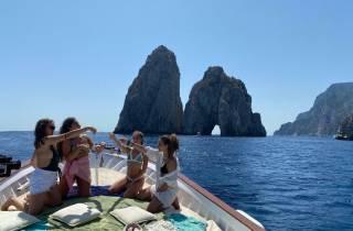 Capri: Lebendiges La Dolce Vita Bootserlebnis