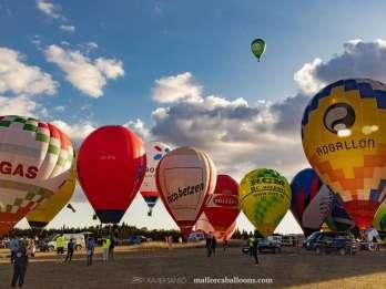 Mallorca: Fahrt mit dem Heißluftballon