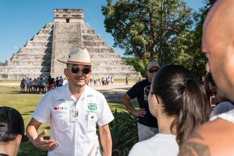 Chichén Itzá: Hubiku Cenote & Valladolid Tour