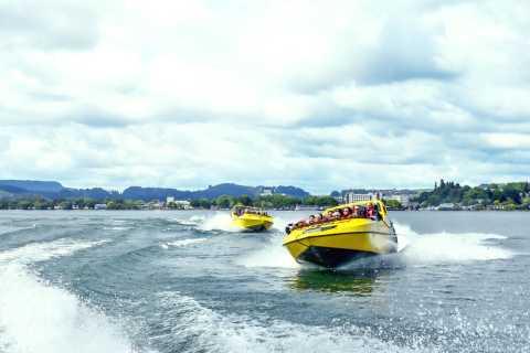 Lake Rotorua: Jet Boat, Speed, Spins and Adrenaline