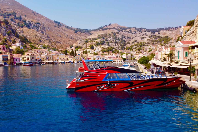 Rhodos-Stadt: Hochgeschwindigkeits-Bootsfahrt zur Insel Symi
