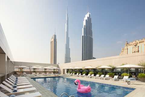 Dubaï: Rove Hotel 3/5 nuits avec Burj Khalifa et aquarium