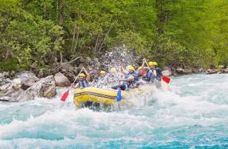 Kathmandu: Wildwasser-Rafting-Tour auf dem Trishuli-Fluss