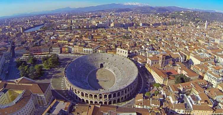 Ab Bergamo: Tagestour nach Verona und Sirmione