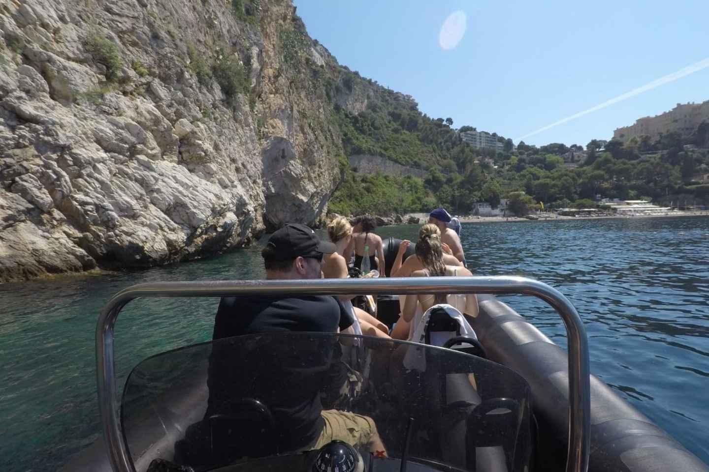 Nizza: Bootstour entlang der Küste nach Monaco