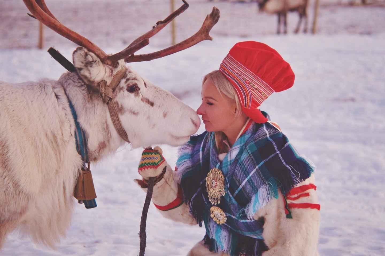 Tromsø: Rentierfütterung und samische Kulturerfahrung