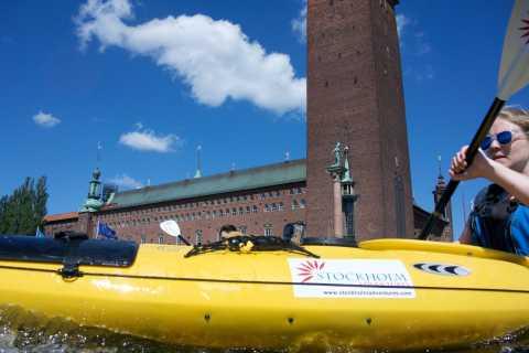 Estocolmo: aventura autoguiada en kayak