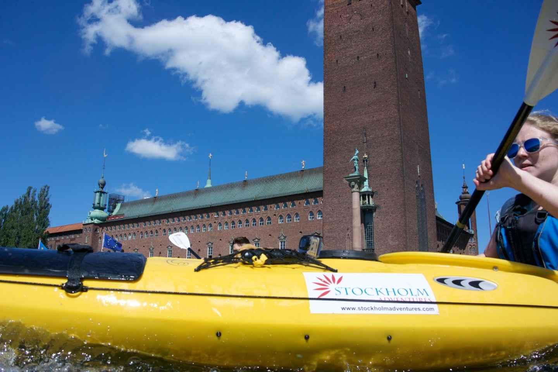 Stockholm: Self Guided Kayak Adventure