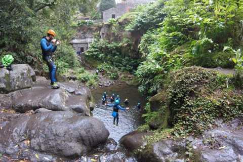 São Miguel: Ribeira dos Caldeirões Canyoning Experience