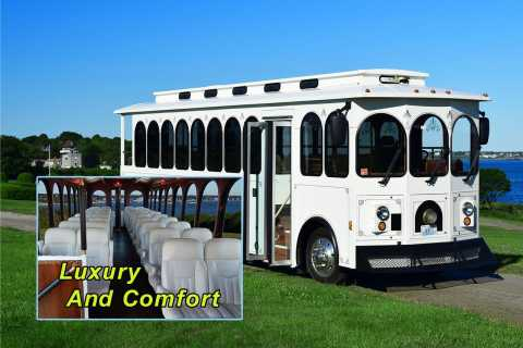 Newport: Gilded Age Trolley Tour & Optional Breakers Entry