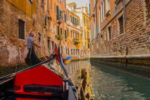 Venedig: Private Gondel-Fahrt