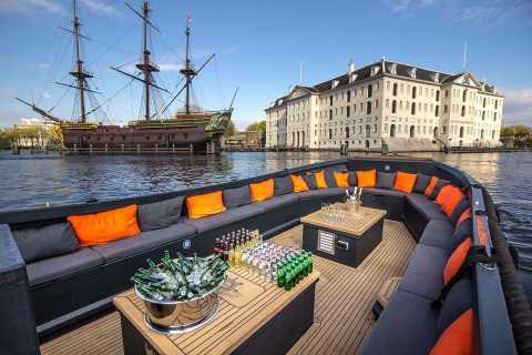 Amsterdam: Private Cruise with Drinks & Optional Snacks