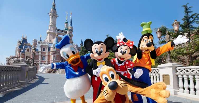 Shanghai Disneyland: Admission Ticket
