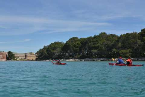 Zlarin Island Sea Kayaking Full-Day Tour from Šibenik