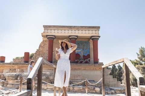 Heraklion: Archäologisches Museum & Knossos Ticket mit Audio