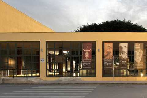 Heraklion: Archaeological Museum & Knossos Ticket with Audio