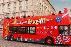 Liverpool: excursão em ônibus panorâmico aberto
